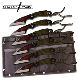 Bild von Perfect Point - Ninja Wurfmesser 6er-Set
