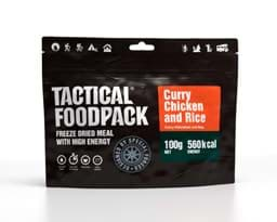 Bild von Tactical Foodpack - Chicken Curry and Rice 100 g