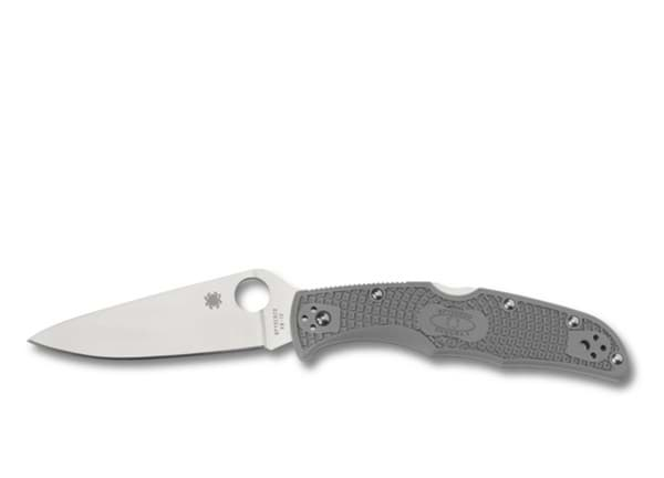 Bild von Spyderco - Endura 4 Full-Flat Ground Grau